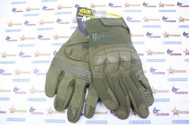 Перчатки Mechanix M-Pact 3 Oliva