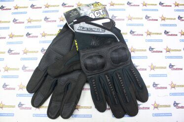 Перчатки Mechanix M-Pact с костяшками Black