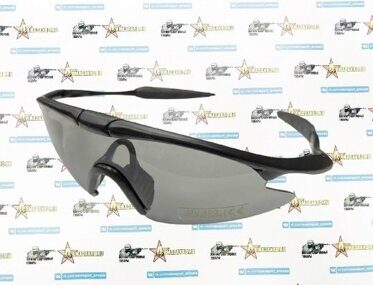 Очки UV Protect Police Shooting Glasses Black Lens