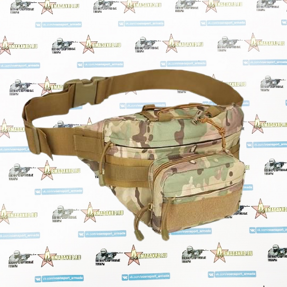 Сумка поясная Tactical Gear Multicam